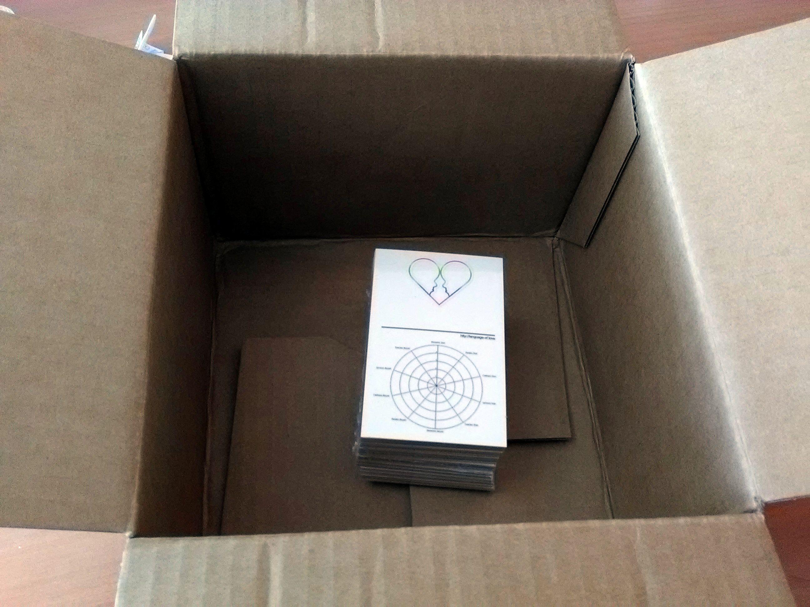Les cartes sont arrivées !