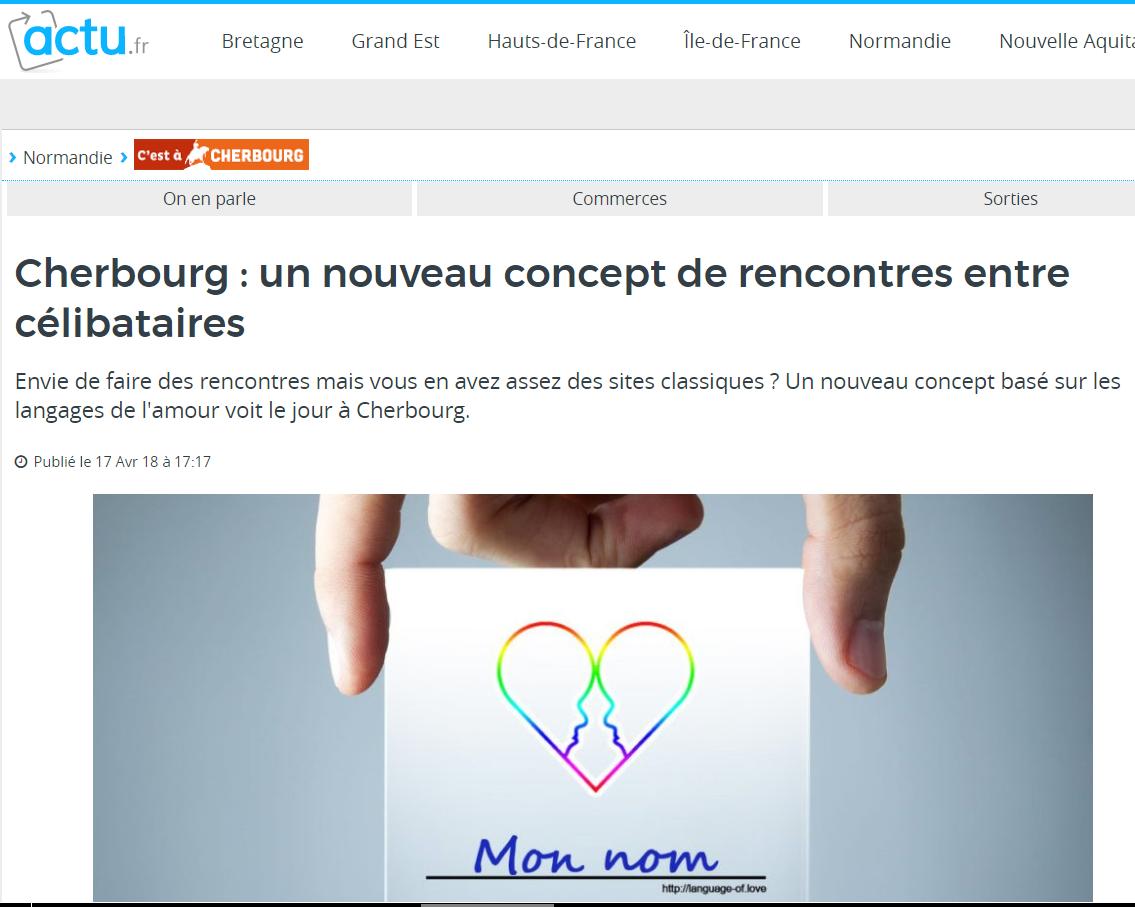 Article sur ma Rencontre avec les langages de l'amour !