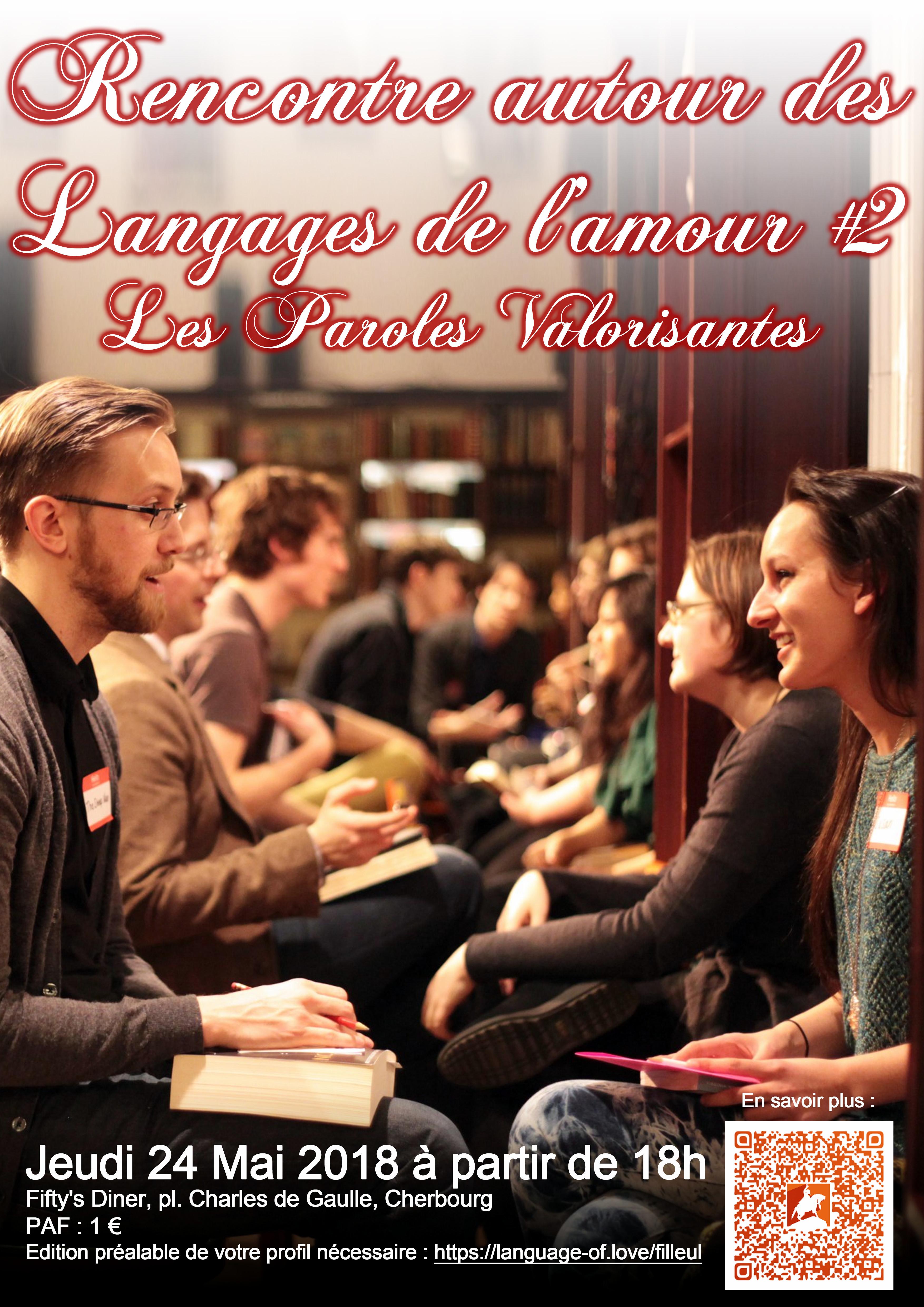Rencontre autour des langages de l'amour : les paroles valorisantes