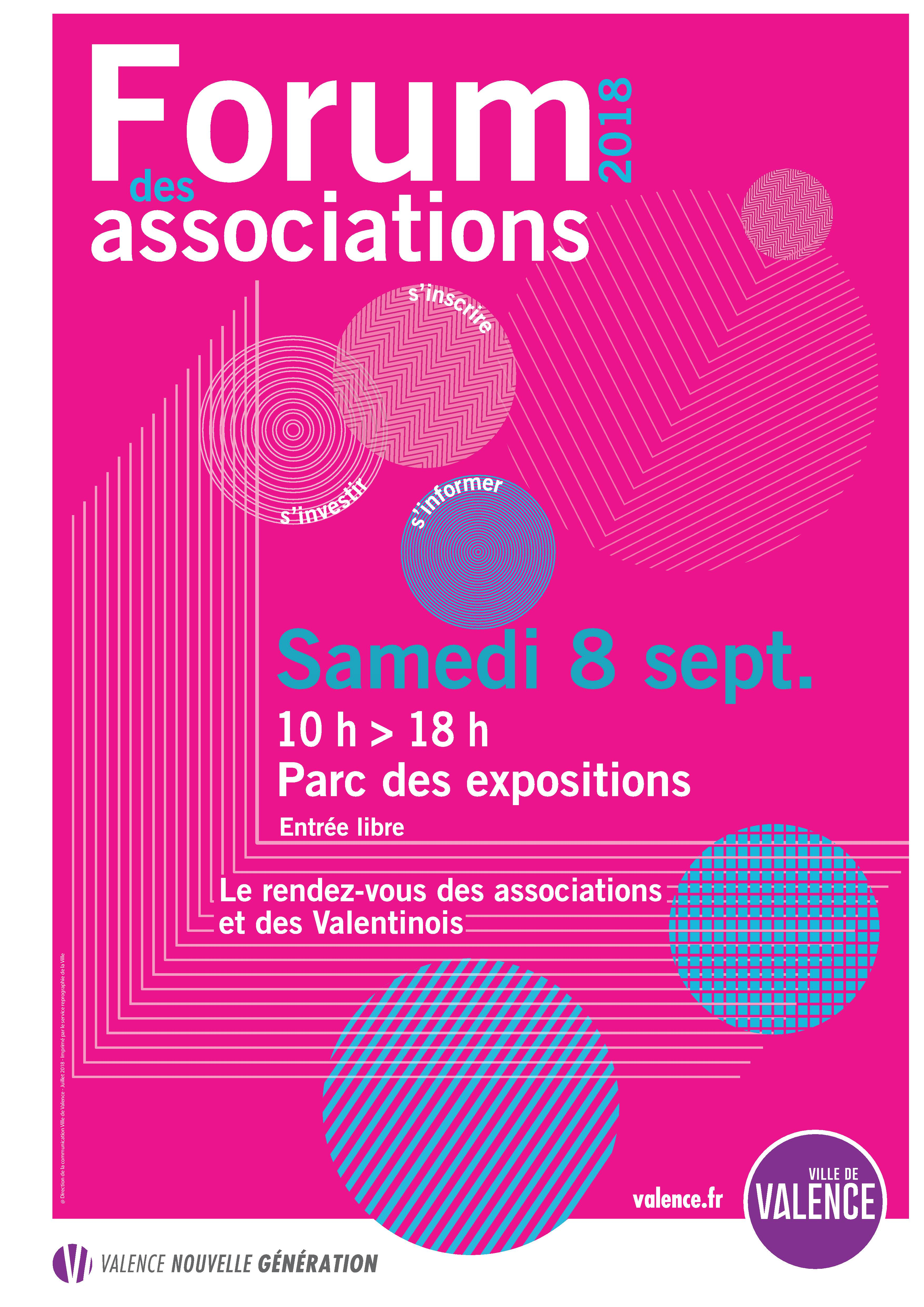 Forum des associations de Valence 2018