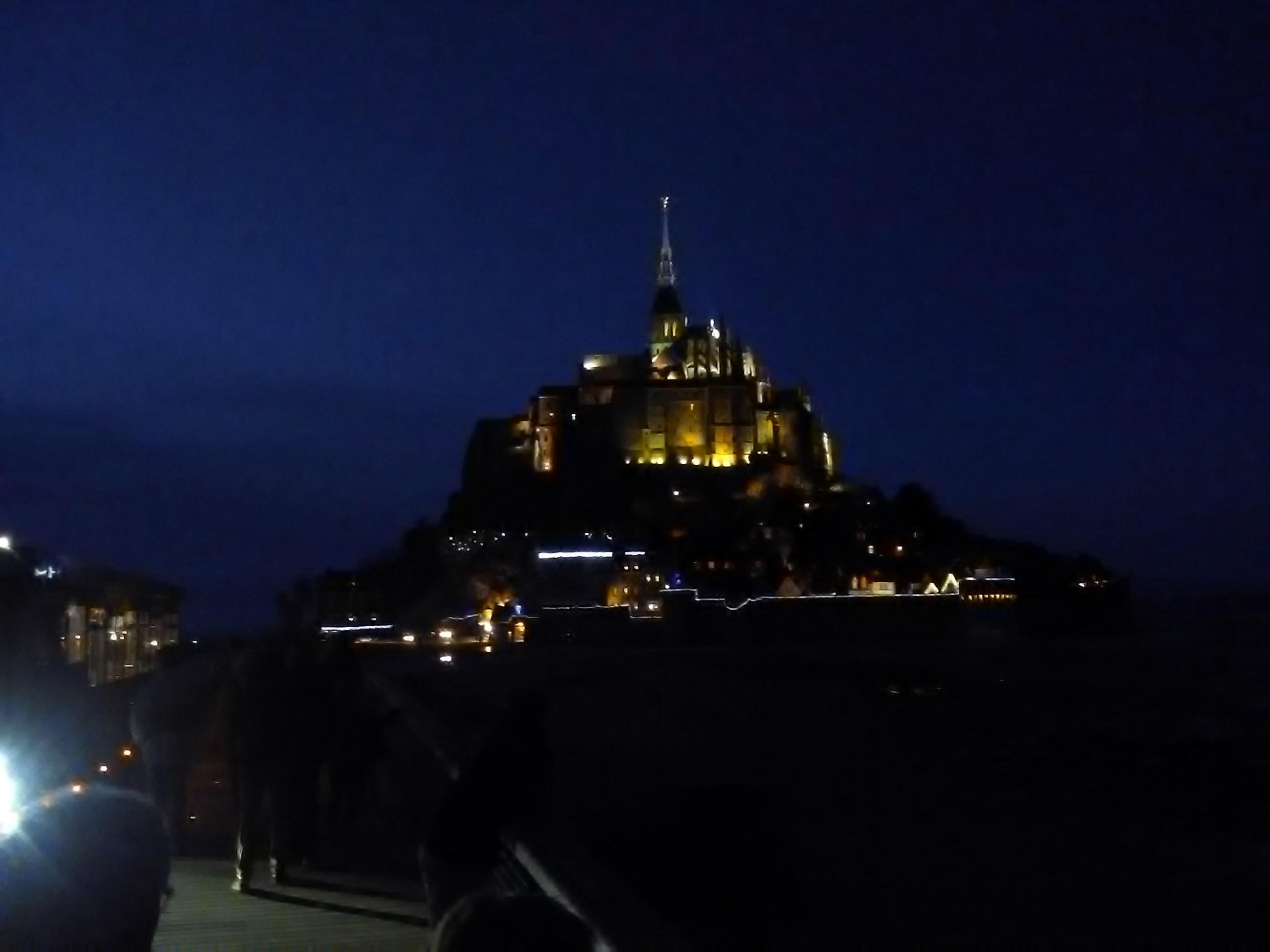 Joyeux Noël du Mont-Saint-Michel