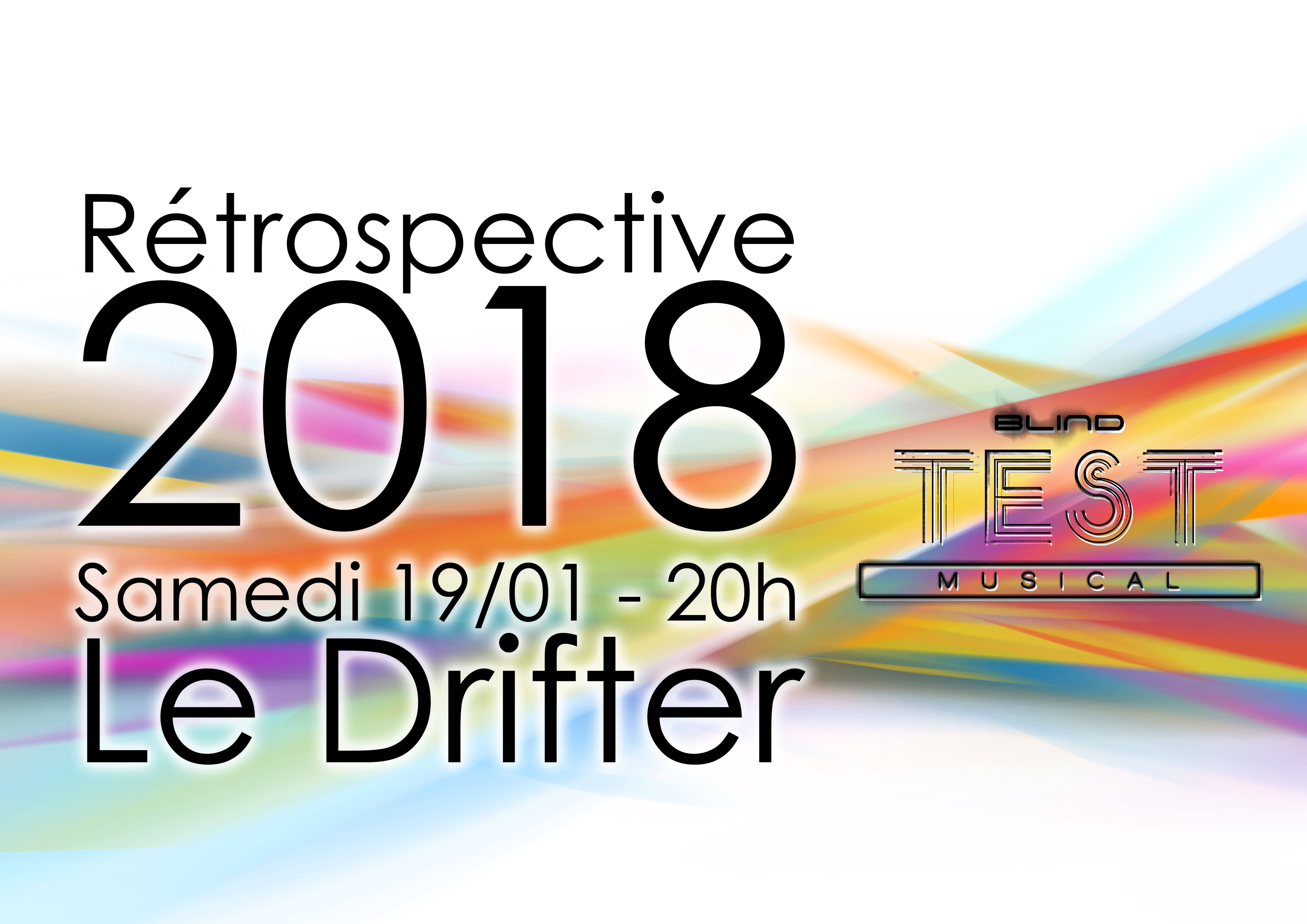 Blind test Rétrospective 2018