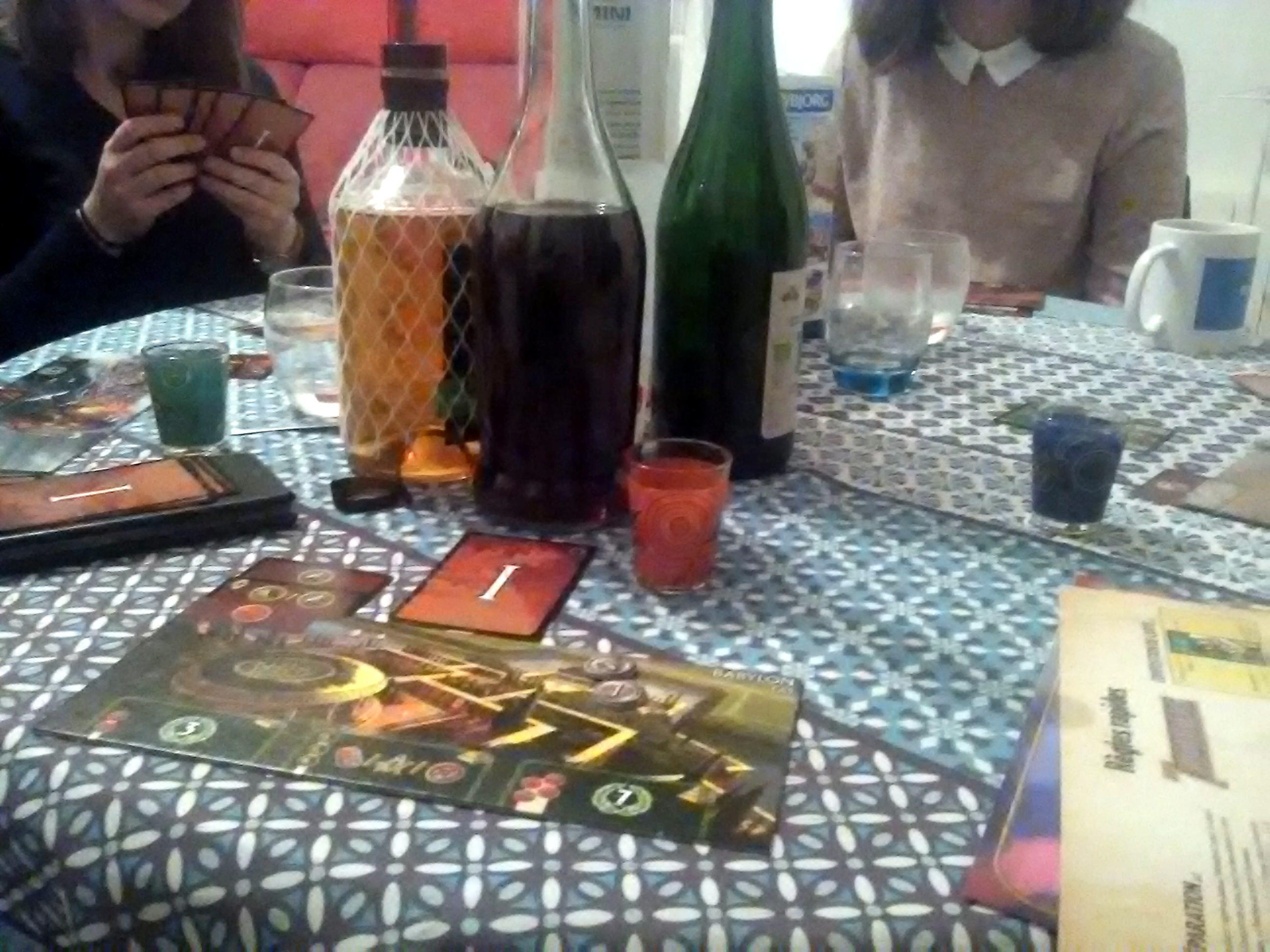 Soirée 7 Wonders et 7 boissons !