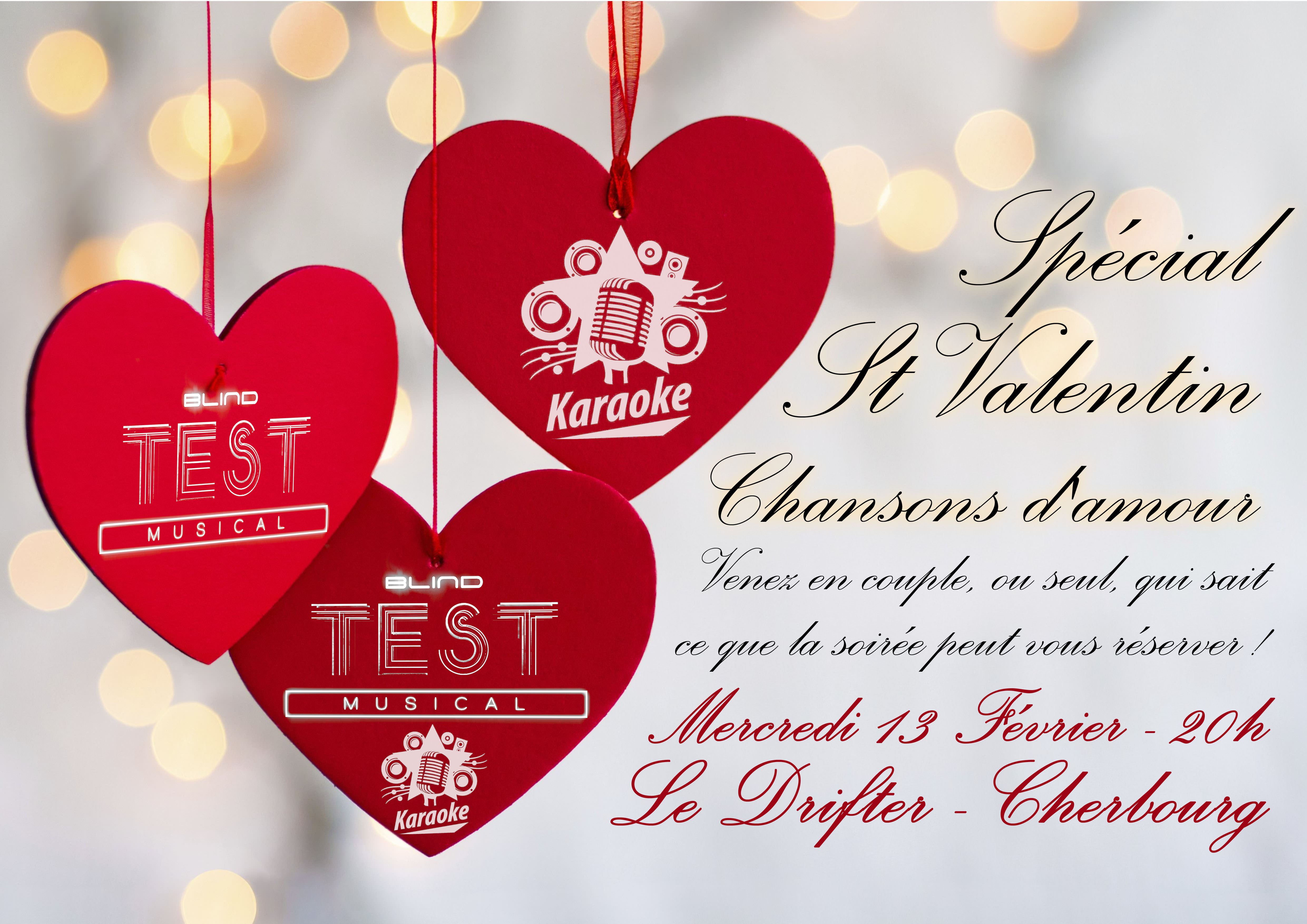 Blind Test-Karaoke «St Valentin»